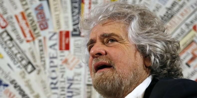 Beppe Grillo condamné à quatre mois de prison