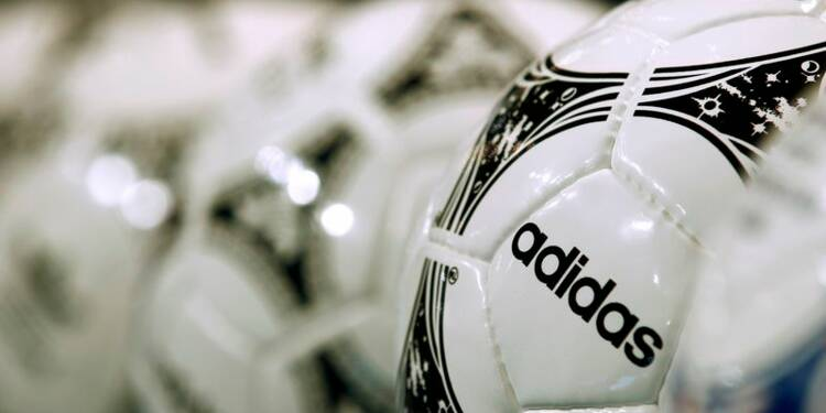 Adidas vise jusqu'à 8% de ventes en plus grâce au Mondial