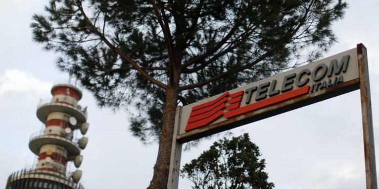 Baisse plus forte que prévu du bénéfice de Telecom Italia
