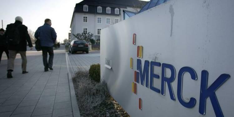 L'allemand Merck relève ses prévisions pour 2013