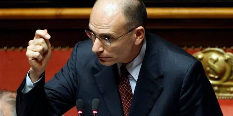 Le gouvernement Letta obtient la confiance du Sénat italien