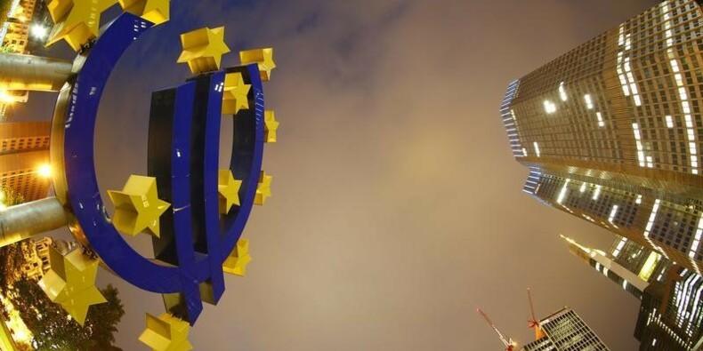 La BCE souligne les risques de retournement des marchés