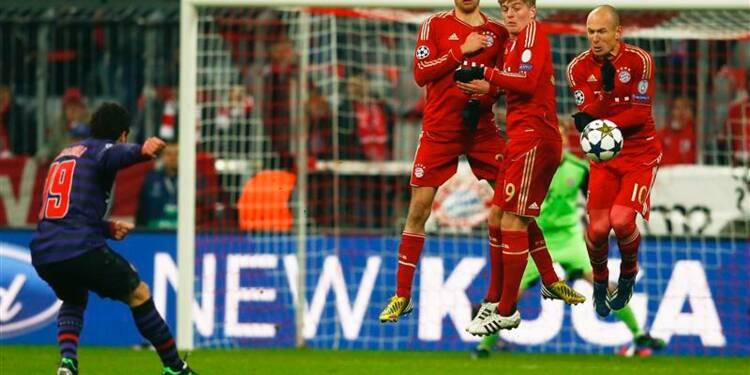 Ligue des champions: le Bayern tremble, Malaga assure