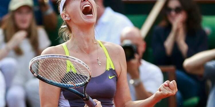 Roland-Garros: Maria Sharapova se qualifie pour la finale