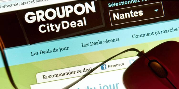 Les ventes de Groupon décollent, mais les pertes se creusent