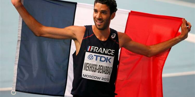 Athlétisme: Mekhissi en bronze et Bondarenko au culot