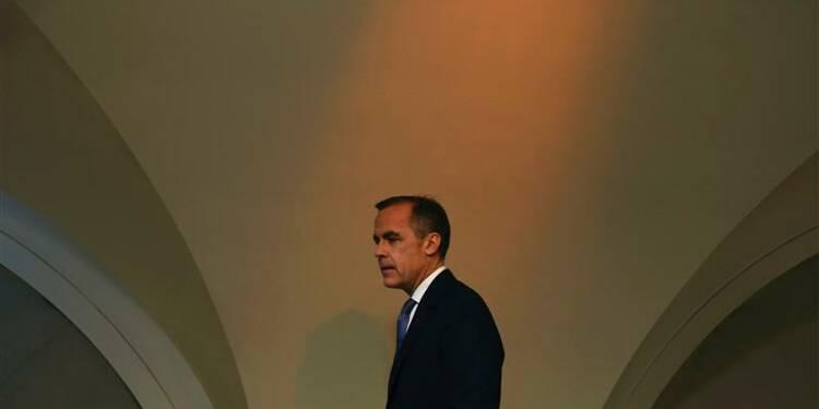Une hausse des taux de BoE peut-être en 2015
