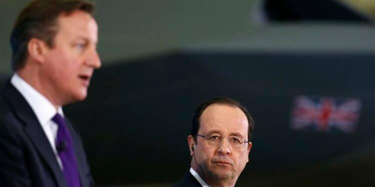 Cameron et Hollande affichent leur mésentente sur l'Union européenne