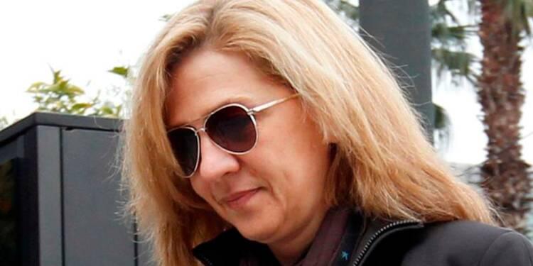 La fille du roi inculpée de blanchiment d'argent en Espagne