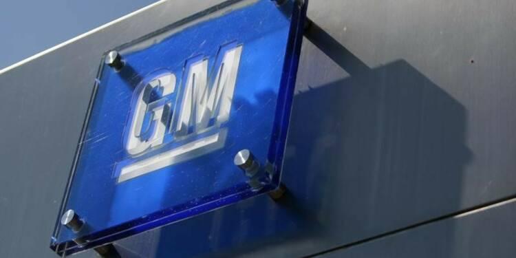 GM rappelle encore plus de 400.000 véhicules aux Etats-Unis