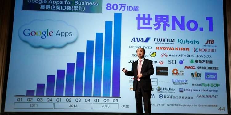 Les achats multiples ont grevé le bénéfice net de Softbank