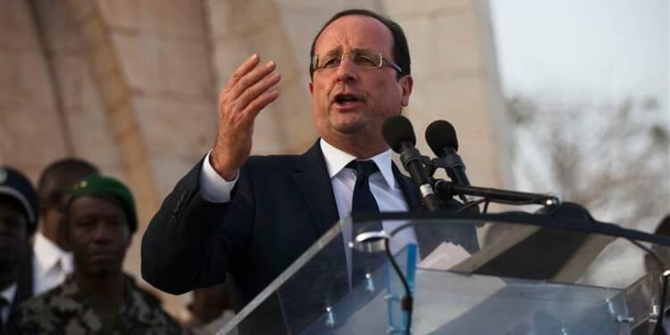 Pour Hollande, le terrorisme n'a pas encore été vaincu au Mali