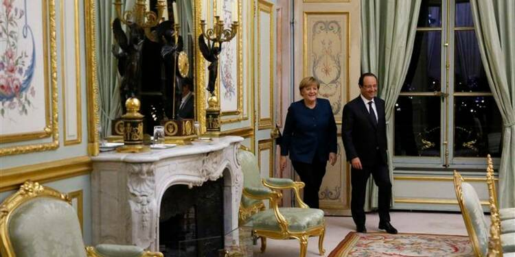 Hollande veut un agenda commun avec Merkel pour finir son mandat