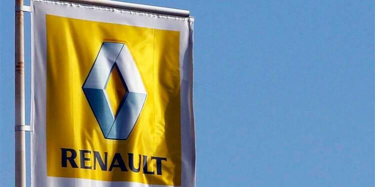 Renault parmi les plus fortes baisses du CAC 40