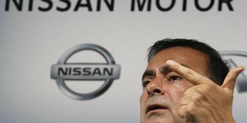 Nissan a payé Ghosn plus de 7 millions d'euros en 2013-2014