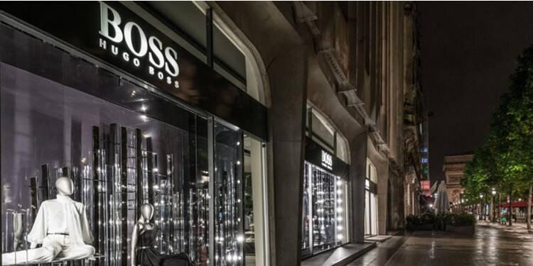 Hugo Boss reprend la main sur la vente