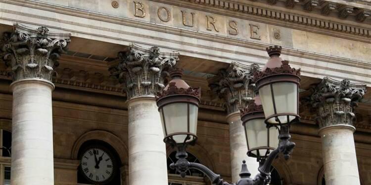 Les Bourses européennes évoluent en baisse en fin de matinée