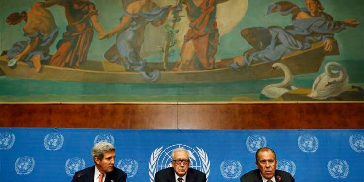 """Washington et Moscou relancent la piste """"Genève 2"""" sur la Syrie"""