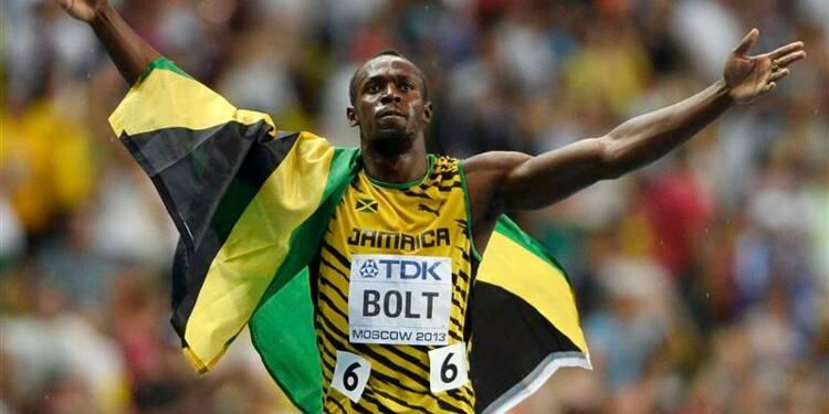 Athlétisme: Usain Bolt redevient champion du monde du 100m