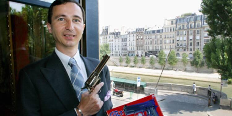 Jérôme Marsac, président de Cybergun : ses faux flingues font un vrai carton