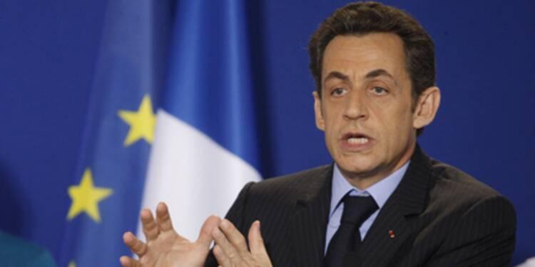 Sarkozy annonce l'imminence  de la mise en place du fonds social