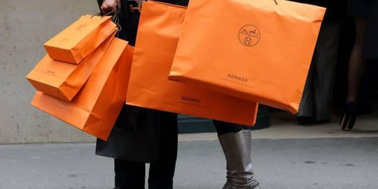 La croissance d'Hermès ralentit légèrement à 13% au 3e trimestre