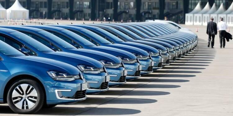 Hausse de 4,8% des ventes de VW en mars, +3,9% au 1er trimestre