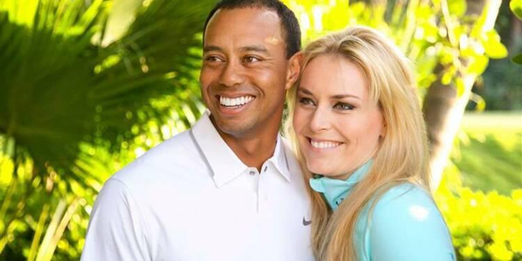 Tiger Woods et Lindsey Vonn confirment leur liaison