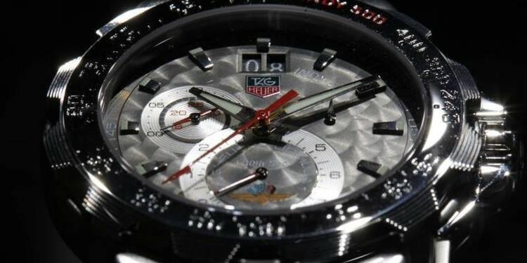 LVMH vise une hausse de 5-7% de ses ventes de montres