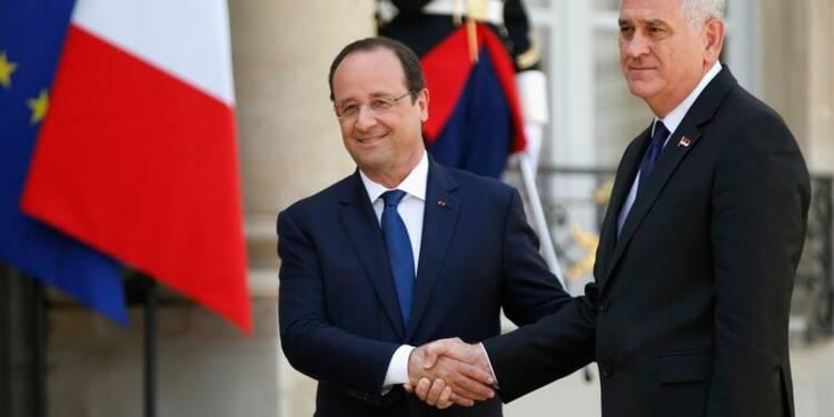 Hollande veut réunir des donateurs pour les crues dans les Balkans