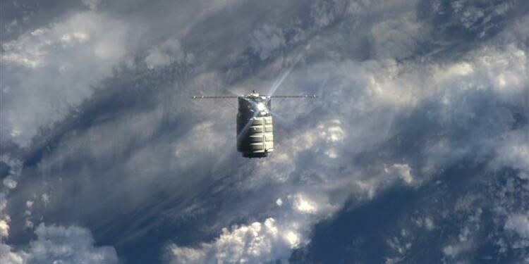 Vol test réussi pour le vaisseau Cygnus vers l'ISS
