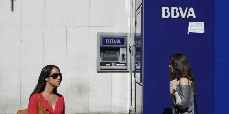 Forte hausse des résultats 2013 de BBVA et de Caixabank