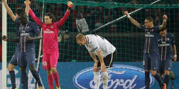 Ligue des champions: le PSG qualifié pour les quarts