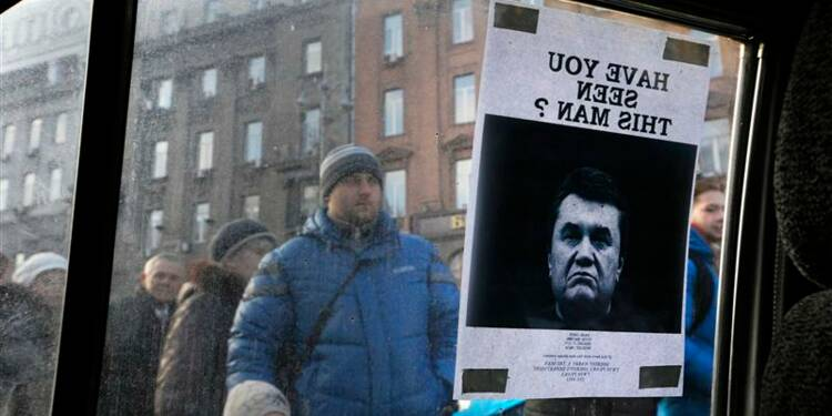 Viktor Ianoukovitch recherché pour meurtres
