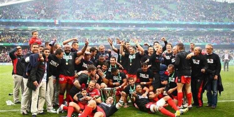 Rugby: Toulon sacré champion d'Europe contre Clermont en H CUP