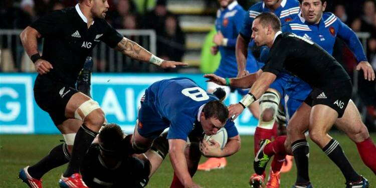Rugby: la Nouvelle-Zélande bat la France 30-0