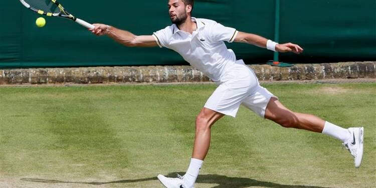 Wimbledon: Benoît Paire piégé par Lukasz Kubot