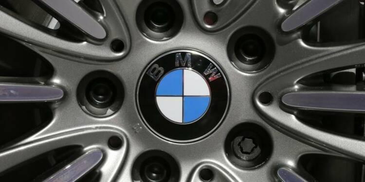 Le bénéfice opérationnel de BMW recule au 1er trimestre