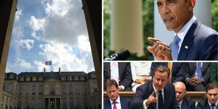 Ayrault recevra lundi les dirigeants du parlement sur la Syrie