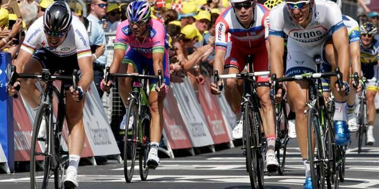 Tour de France: Marcel Kittel remporte la 12e étape