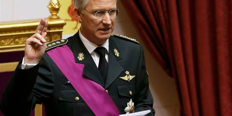 Philippe prête serment comme septième roi des Belges