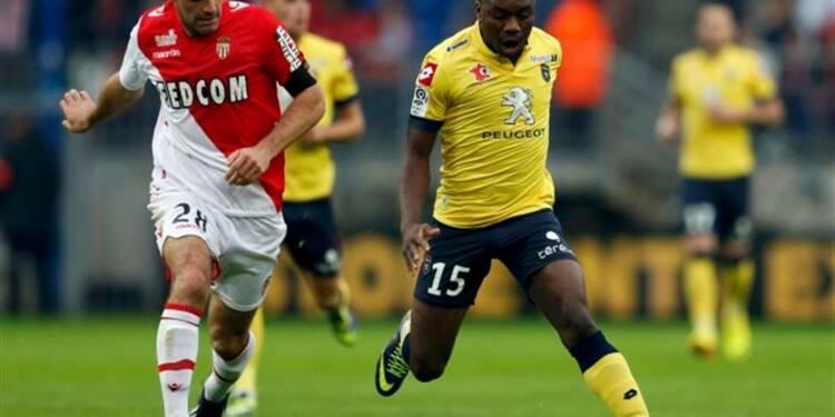 Ligue 1: Monaco freiné par Sochaux