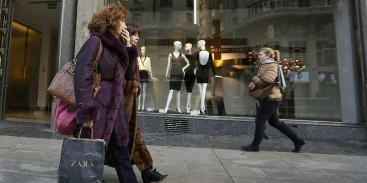 Inditex affiche un bénéfice net en hausse de 1,2%