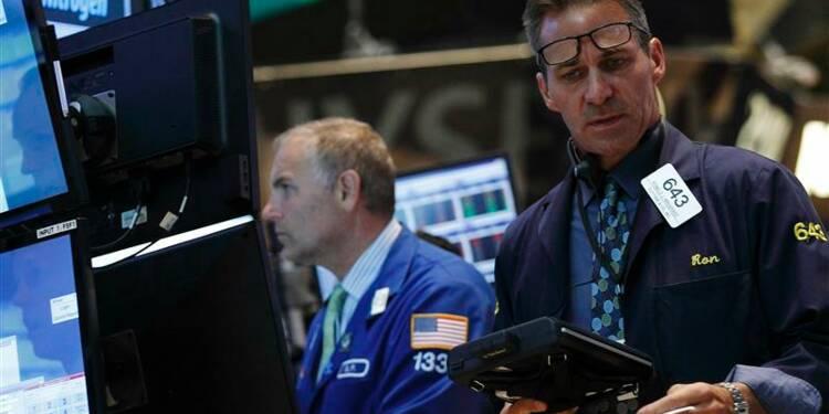 Wall Street finit en petite hausse avant l'emploi