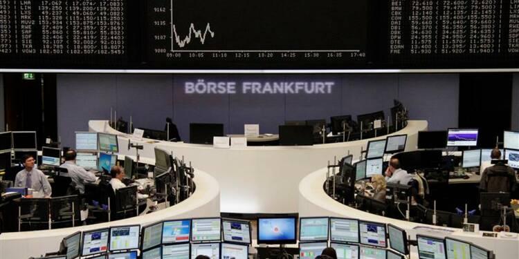 Les Bourses européennes perdent encore du terrain à la mi-séance