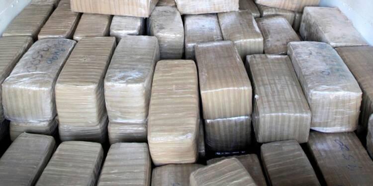 Saisie record de 42,7 tonnes de cannabis en Méditerranée