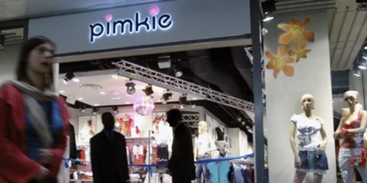 Les vêtements Pimkie, premier revers pour la maison Auchan