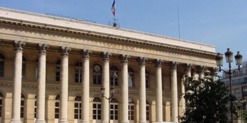 Le CAC 40 a résisté à la baisse des valeurs bancaires