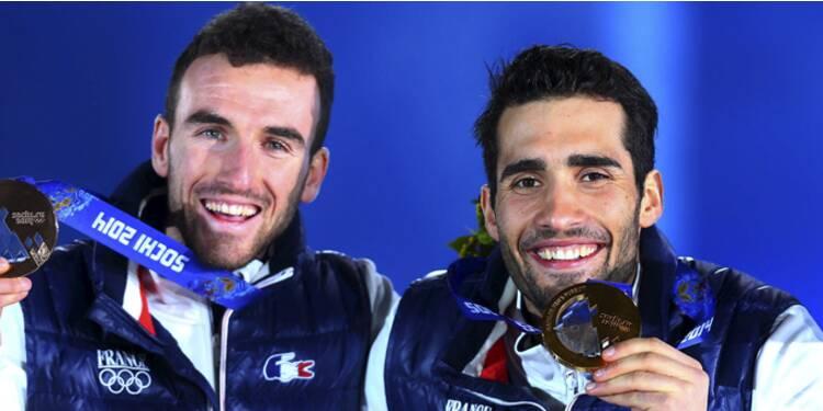 JO : plus de 400.000 euros de primes pour les médaillés français à Sotchi