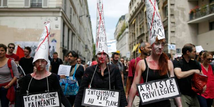 Aurélie Filippetti veut la fin des actions des intermittents